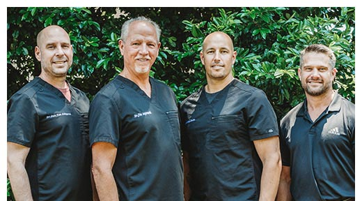 Chiropractor LaGrange GA Dr. Jim Aspinwall With The Team